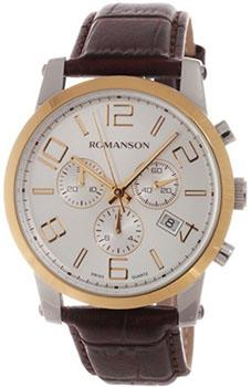 Мужские часы Romanson TL0334HMC(WH)