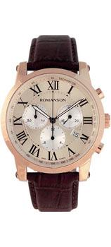 Мужские часы Romanson TL0334HMR(RG)RIM