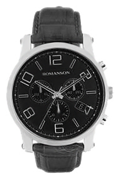 Мужские часы Romanson TL0334HMW(BK)