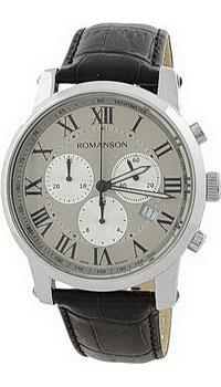 Мужские часы Romanson TL0334HMW(GR)RIM