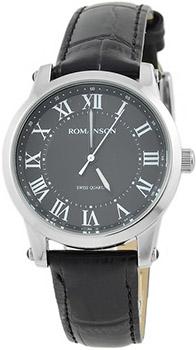 Женские часы Romanson TL0334LW(BK)