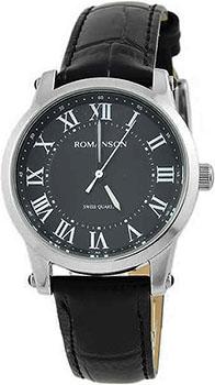 Мужские часы Romanson TL0334LW(BK)RIM
