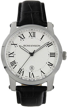 Мужские часы Romanson TL0334MW(WH)RIM