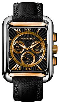 Мужские часы Romanson TL0353HMJ(BK)