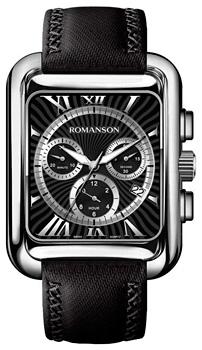 Мужские часы Romanson TL0353HMW(BK)