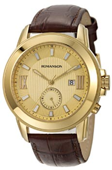 Мужские часы Romanson TL0381MG(GD)