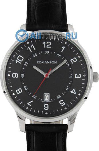 Мужские часы Romanson TL0386MW(BK)