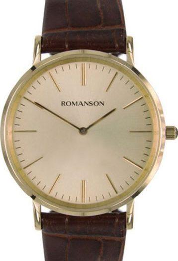 Мужские часы Romanson TL0387MG(GD)