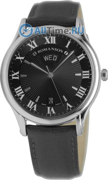 Мужские часы Romanson TL0393MW(BK)