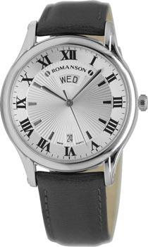 Мужские часы Romanson TL0393MW(WH)