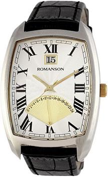 Мужские часы Romanson TL0394MC(WH)