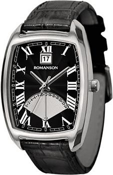Мужские часы Romanson TL0394MW(BK)
