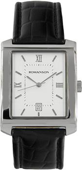 Мужские часы Romanson TL1107SXW(WH)