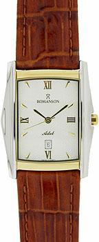 Мужские часы Romanson TL1131SMC(WH)