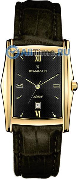Мужские часы Romanson TL1131SMG(BK)