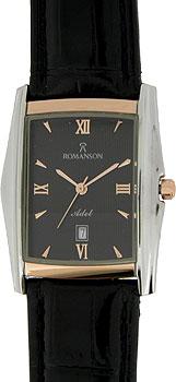 Мужские часы Romanson TL1131SMJ(BK)