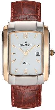 Мужские часы Romanson TL1157SMJ(WH)