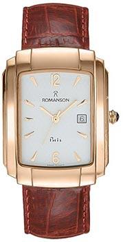 Мужские часы Romanson TL1157SMR(WH)