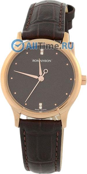Мужские часы Romanson TL1213SLR(BROWN)