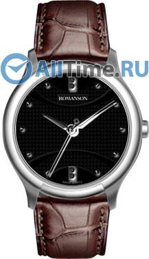 Женские часы Romanson TL1213SLW(BK)