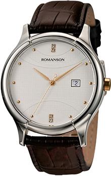 Мужские часы Romanson TL1213SMJ(WH)