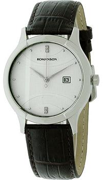 Мужские часы Romanson TL1213SMW(WH)