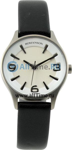 Женские часы Romanson TL1243LW(WH)BK