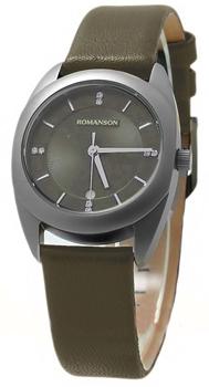 Женские часы Romanson TL1246LW(GR)GR