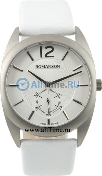 Мужские часы Romanson TL1246MW(WH)WH