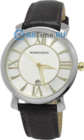 Мужские часы Romanson TL1256MJ(WH)BN