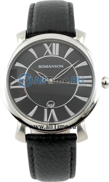 Мужские часы Romanson TL1256MW(BK)BK