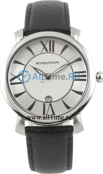 Мужские часы Romanson TL1256MW(WH)BK