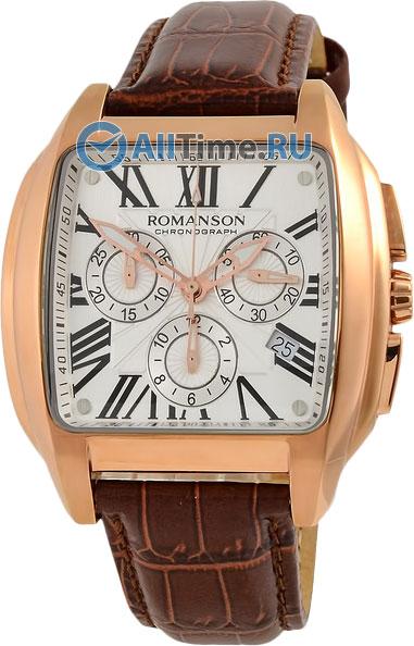 Мужские часы Romanson TL1273HMR(WH)BN
