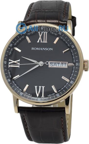 Мужские часы Romanson TL1275MR(BK)BN