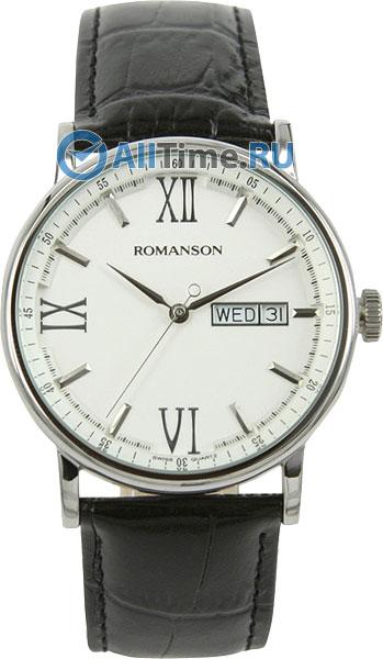 Мужские часы Romanson TL1275MW(WH)BK