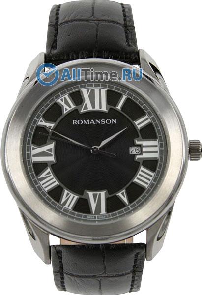 Мужские часы Romanson TL2615MW(BK)BK
