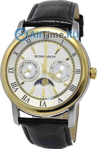 Мужские часы Romanson TL2616FMC(WH)
