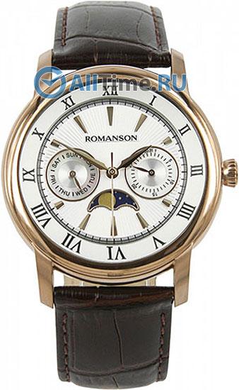 Мужские часы Romanson TL2616FMR(WH)BN