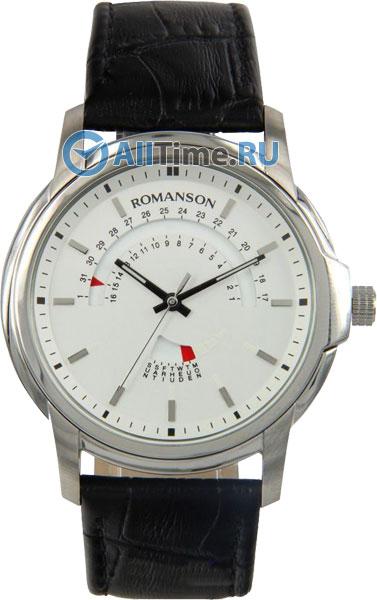 Мужские часы Romanson TL2631CMW(WH)BK