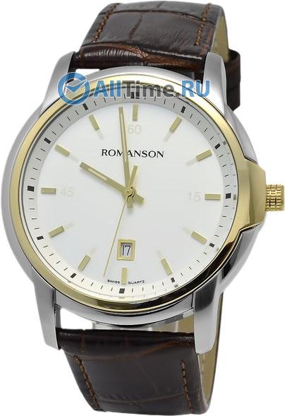 Мужские часы Romanson TL2631MC(WH)BN