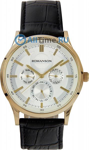 Мужские часы Romanson TL2648FMG(WH)