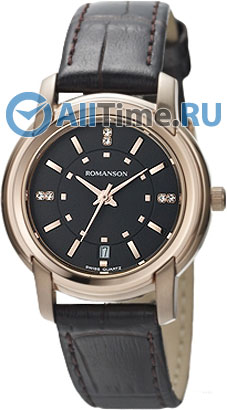 Женские часы Romanson TL2654LR(BK)