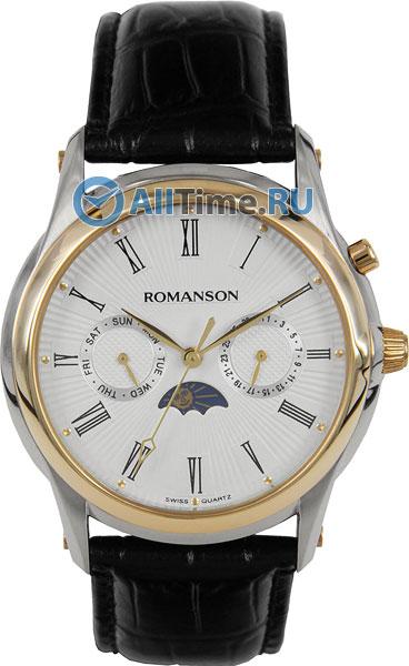 Мужские часы Romanson TL3211FMC(WH)