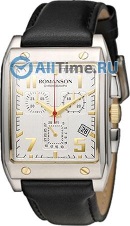Мужские часы Romanson TL3217HMC(WH)BK