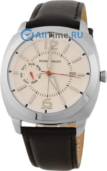 Мужские часы Romanson TL3220FMW(WH)BK