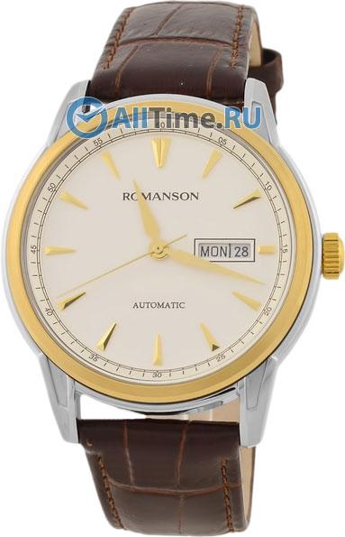 Мужские часы Romanson TL3223RMC(WH)BN