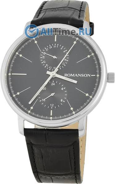 Мужские часы Romanson TL3236FMW(BK)BK