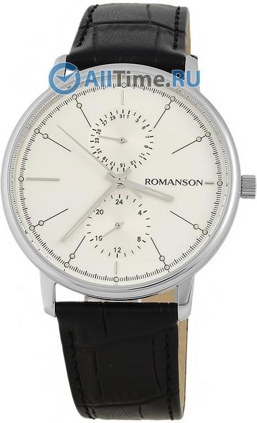 Мужские часы Romanson TL3236FMW(WH)BK