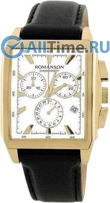 Мужские часы Romanson TL3249HMG(WH)