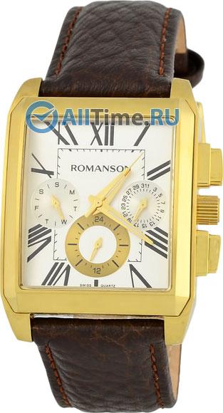 Мужские часы Romanson TL3250FMG(WH)BN
